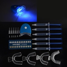 Home Use Teeth Whitening Kit Care Oral Hygiene Tooth Whitener Bleaching White With 44% Carbamide Peroxide CQ2