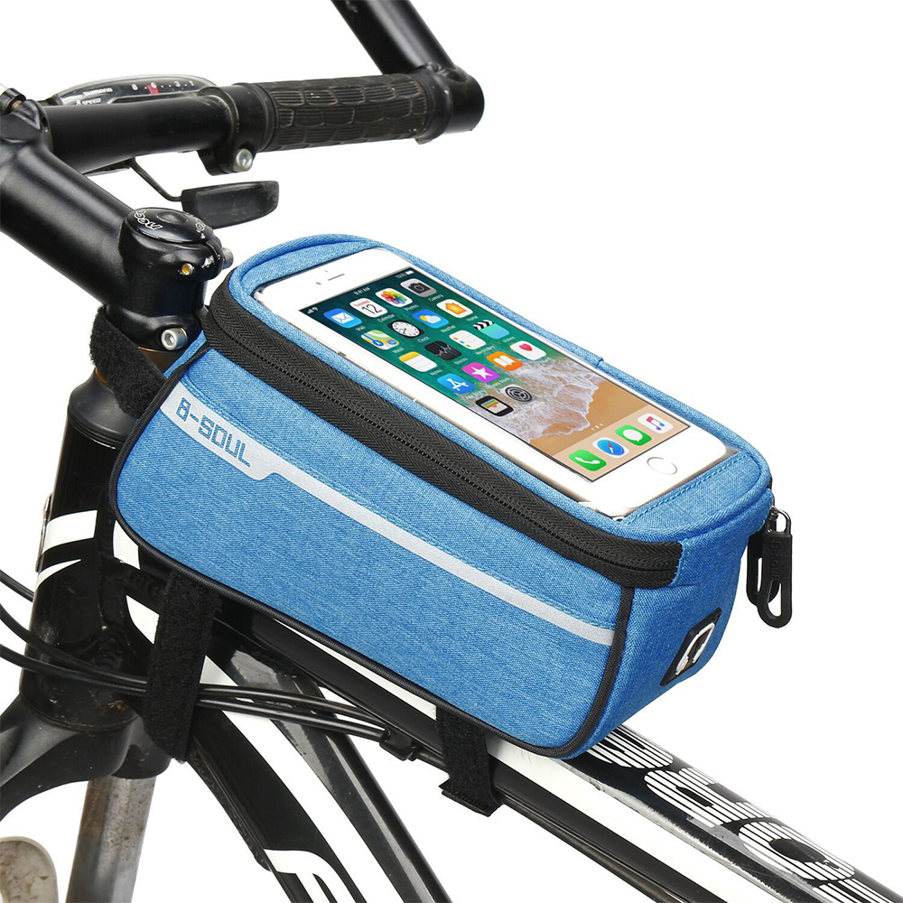 Bike Bicycle Front Frame Bag Waterproof Holder Case Cycling Bags Accessories