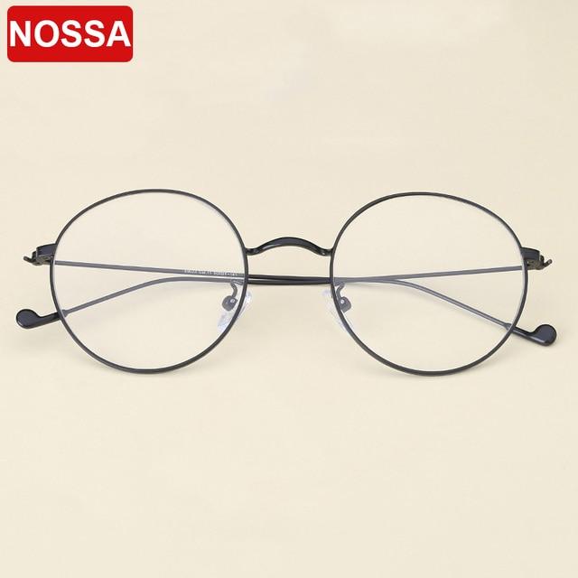 daf0c120dbd 2018 Simple Designer Vintage Metal Glasses Frames Casual Round Goggles  Women Men Optical Glasses Myopia Trendy Eyewear Frame