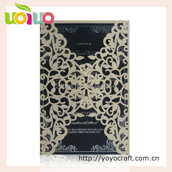 Wedding Souvenirs Nepali Marriage Invitation Card Sample Brown Royal Vintage Handmade Type