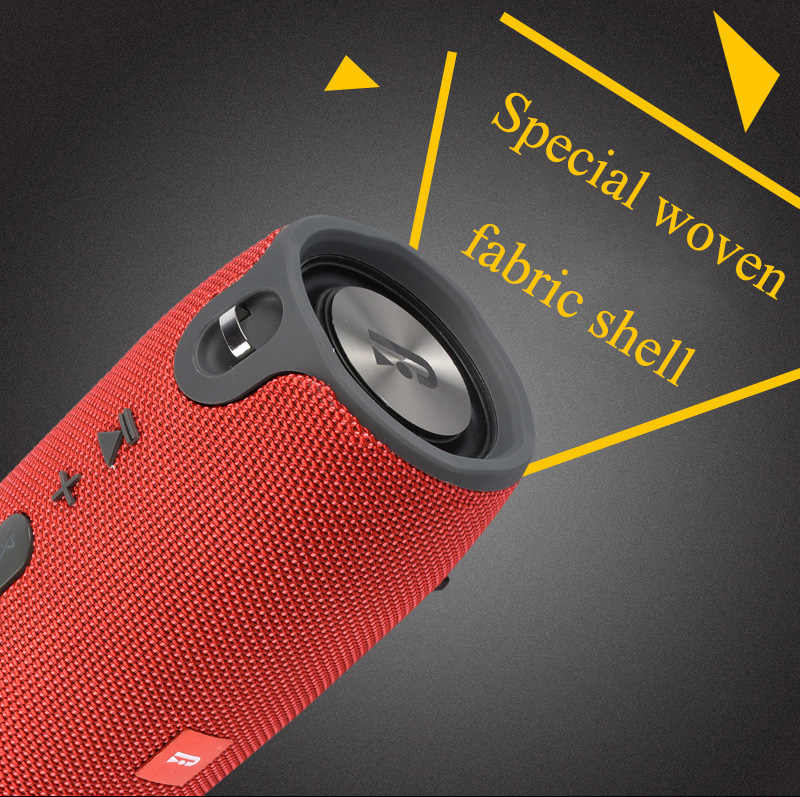 fbb359f0c4 ... Version Wireless Best Bluetooth Speaker Waterproof Portable Outdoor  Mini Column Box Loud Subwoofer Speaker Design For