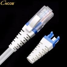 CNCOB rj45 cap cat6a CAT6 network connector tpu boots Ethernet protective cover 100pcs aperture: 5.5-7.0mm