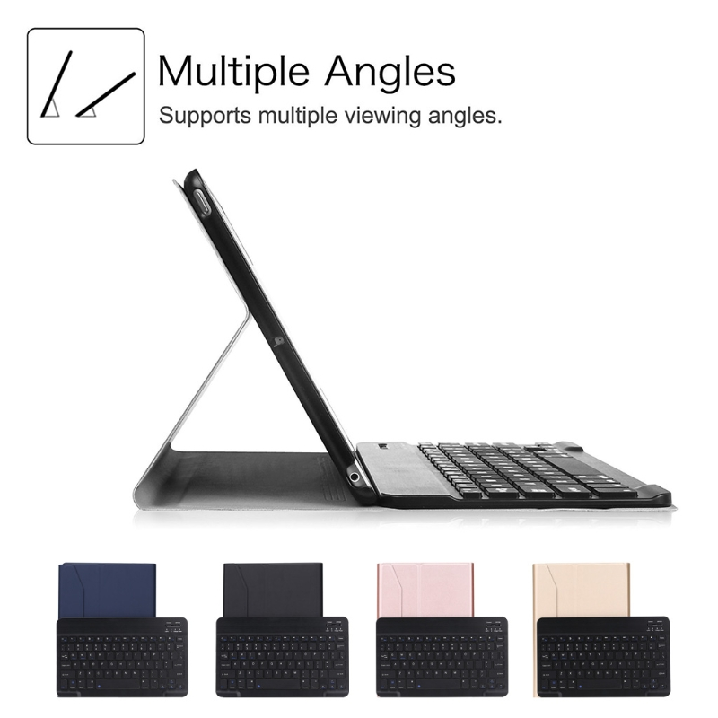 Folding Bluetooth 3.0 Keyboard Case Cover Tablet Stand For iPad Pro 9.7/Air 1/2