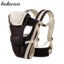 Belecoo 4 Colors Carrier Baby Wrap Sling Front Facing Baby Carrier Breathable Adjustable Baby Backpack For