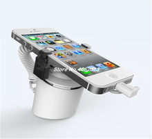 universal mobile security displays holder stand cell phone security alarm device protection with charger(China)