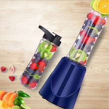 лучшая цена Portable Electric Juicer Blender Fruit Baby Food Milkshake Mixer Meat Grinder Multifunction Juice Maker Machine Blue EU Plug