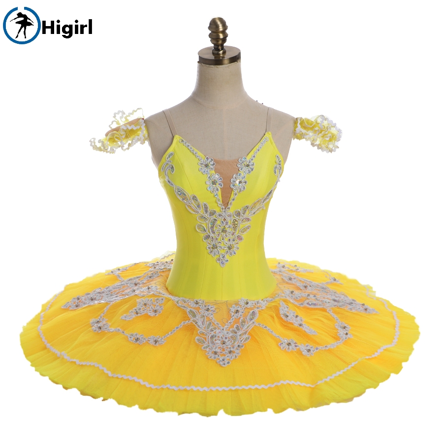 yellow/blue/white Ballet Tutu,ballet stage costumes,professional Classical ballet tutu for performance,tutu ballet BT8931