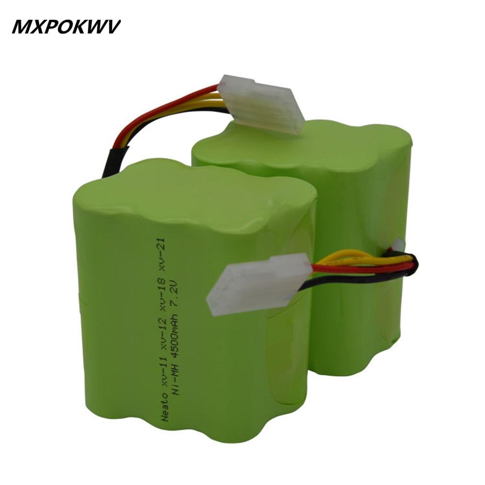 New 1Pcs Rechargeable Nimh Battery Pack 7 2v 4500mAh Battery For Neato XV 11 12 14