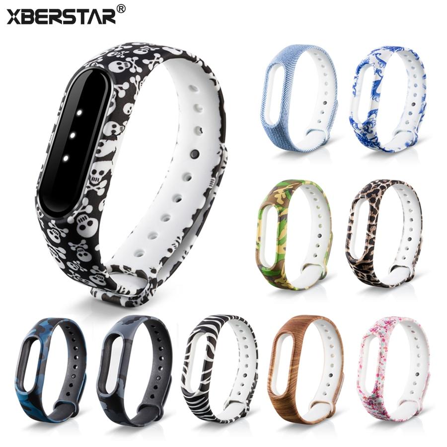 Silicone Fitness Bracelet Strap Watchband For Xiaomi Mi Band 2 Miband 2 Tracker Silica gel Wrist Strap Bracelet original xiaomi steel net watch band for miband