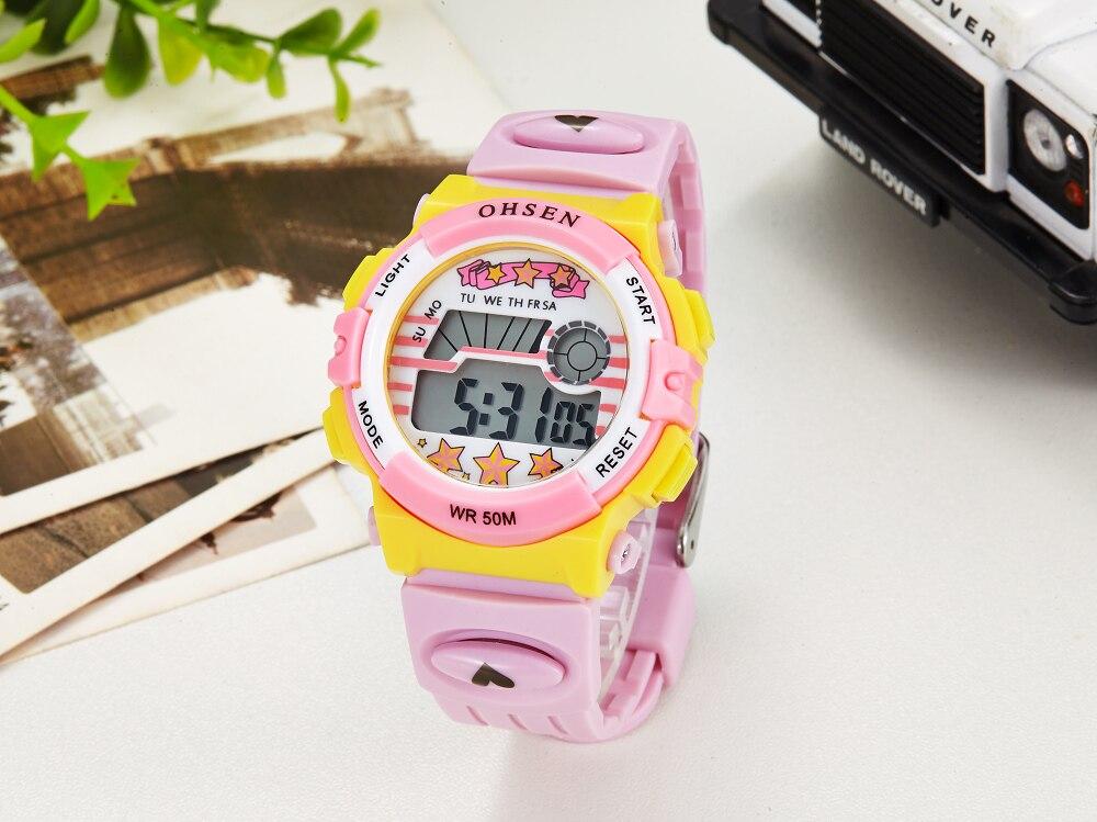 Hot OHSEN Children Watch Boys Life Waterproof Digital LED Sports Watch Kids Alarm Date Casual Watch Gift Hombre Reloj Deportivo (22)
