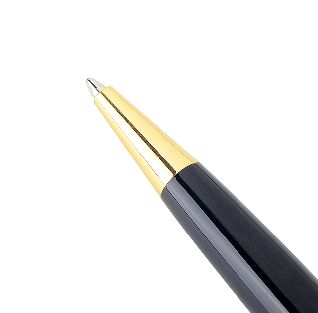 High Quality Metal Ballpoint Pen Business Writing Gold Silver Clip Roller Ball Pens School Student Office Stationery 3