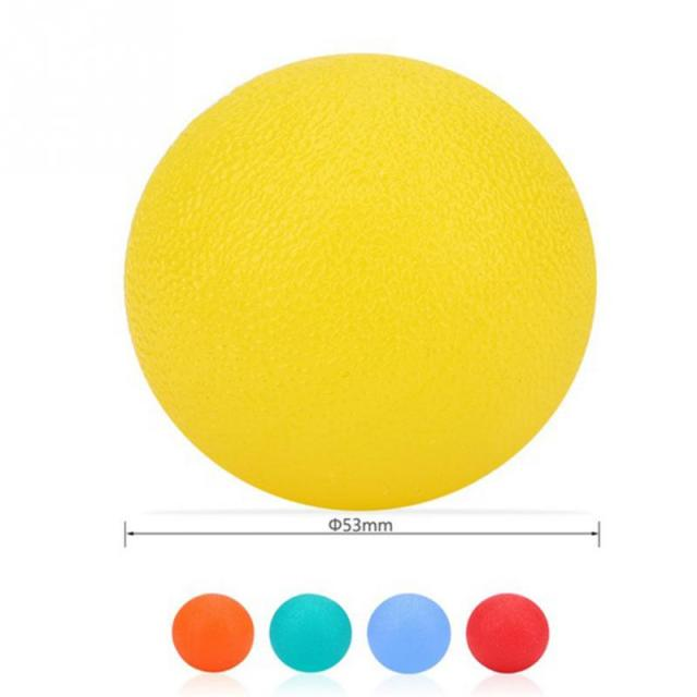 New Silicone Massage Therapy Grip Ball For Hand Finger Strength Exercise Stress Relief Decompression Ball Fitness Equipment #929
