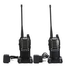 Рация baofeng портативная 2 шт/лот 2800 мАч УВЧ 400 470 МГц