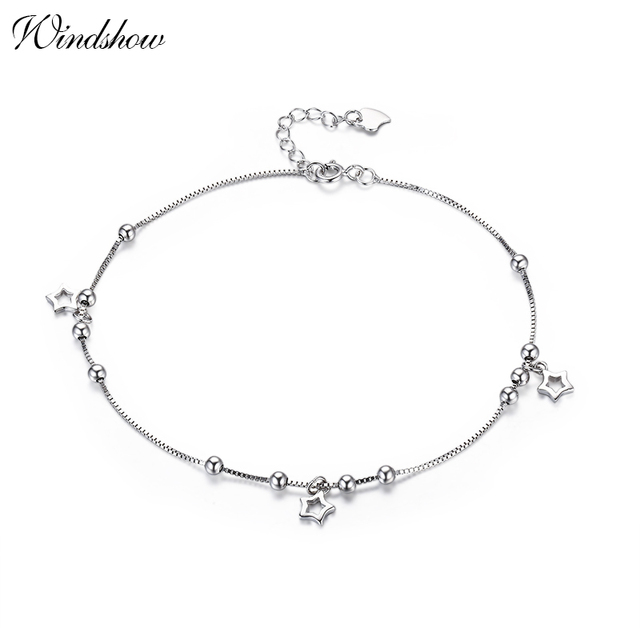 Butterfly Charms Dangle 925 Sterling Silver Cute Anklet Jewellery for Women Girl Best Gifts Adjustable Length hVU6Q26X8