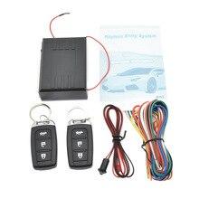 Universal Car Alarm Security System Door