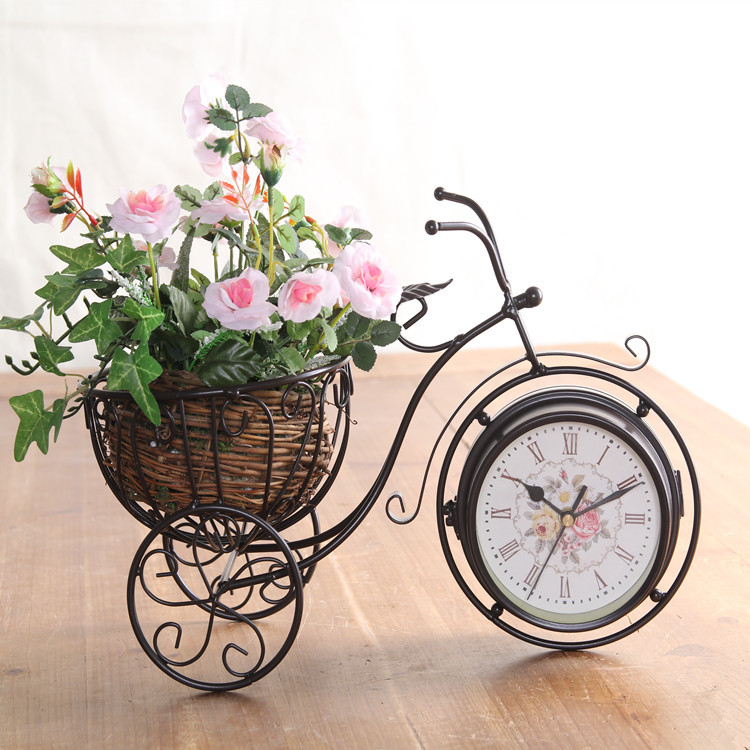 American country Home Furnishing European Garden Decor new bike iron double bell