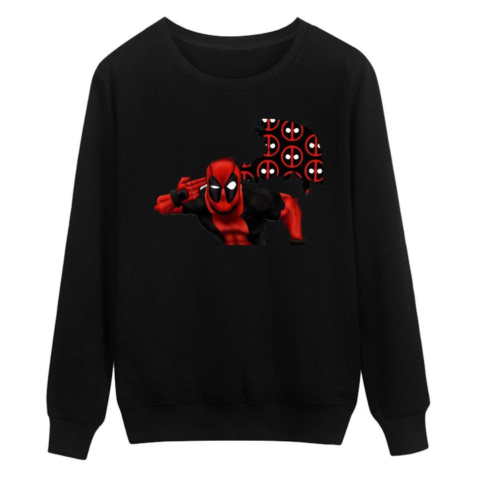 2018 Amerikanischen Comics Sweatshirt Männer Hoodies Schwarz Baumwolle Mode Hoodies Männer Sweashirts Hüfte Hop Lustige Hoodie Kleidung Xxs-4xl