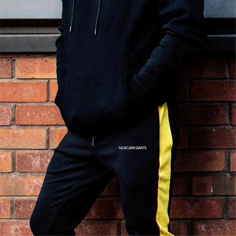 HTB1BYaTXeP2gK0jSZFoq6yuIVXaQ ENJPOWER New Men Pants Hip Hop Fitness clothing Joggers Sweatpants Side stripe classic fashion Streetwear Track Pants Trousers