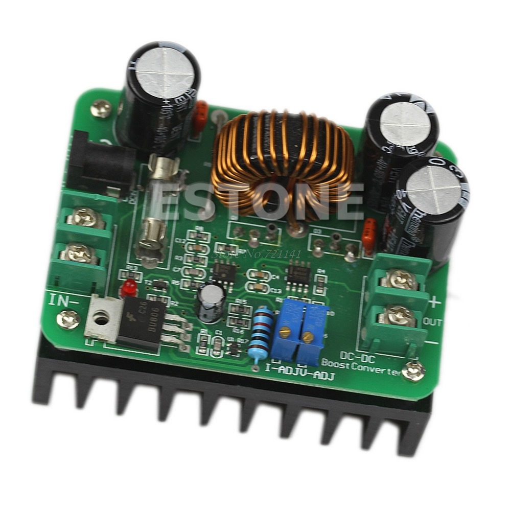 <font><b>600W</b></font> <font><b>DC</b></font> 10V-60V to 12V 24V 36V 48V 80V <font><b>10A</b></font> Converter <font><b>Step</b></font>-<font><b>up</b></font> Module Power Supply Dropship image