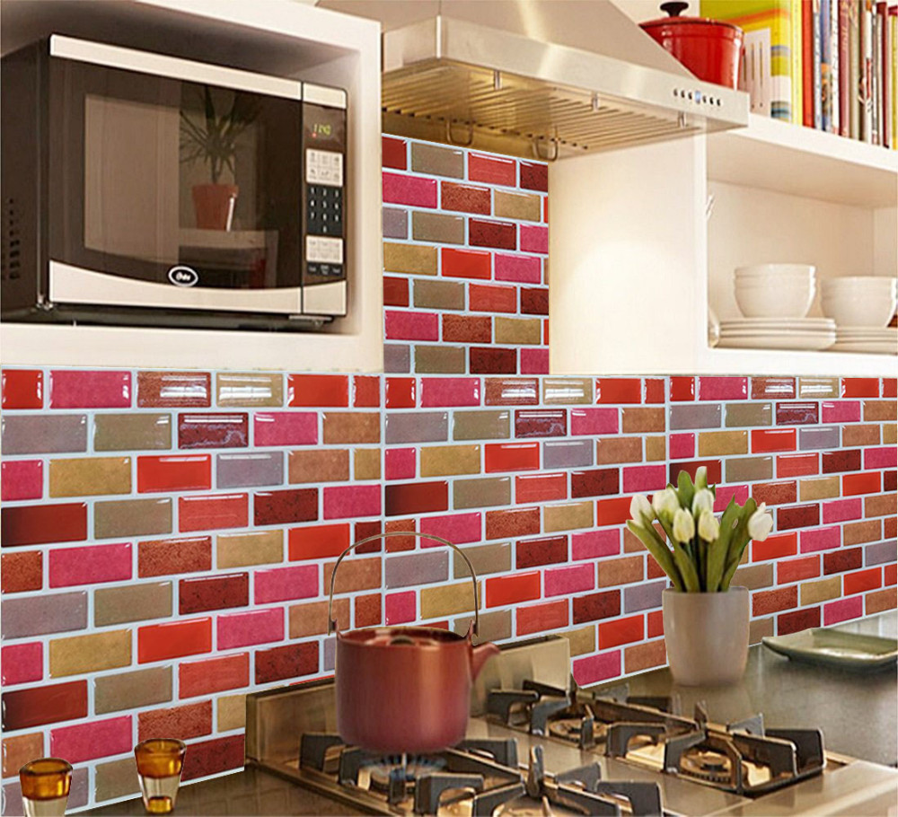 Wall Tile For Kitchen Fixing Mosaic Wall Tiles Promotion Shop For Promotional Fixing