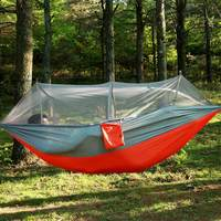 Garden Hanging Nylon Bed And Mosquito Net Outdoor Travel Jungle Camping Tent Hammock Camping Swing Hanging