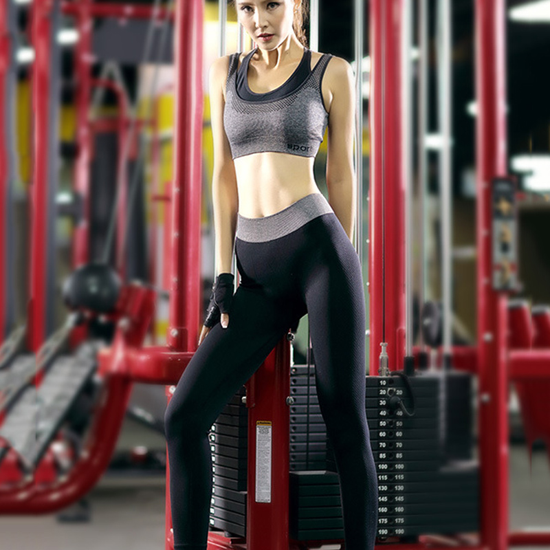 Mujeres Yoga Traje de Fitness Deporte Establece Mujer Ropa Deportiva - Ropa deportiva y accesorios - foto 5