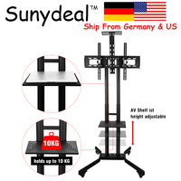 TV Wall Mount Bracket Mobile TV Stand TV Cart Floor Stand Mount Home Display Trolley for 32 65 Soporte Tv Holder 600x400mm