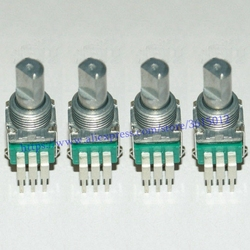 Interruptor de ajuste de potenciómetro giratorio para PIONEER DJM400 DJM 400, 4X