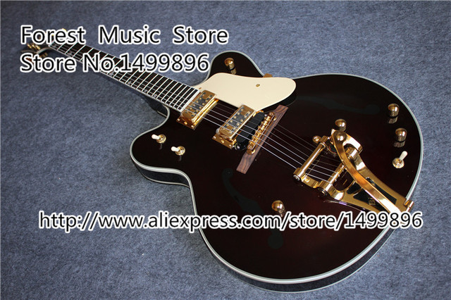 Cheap Top Selling China OEM G6122-1962 Electric Guitar Atkins Country Gentleman Guitars Free Shipping