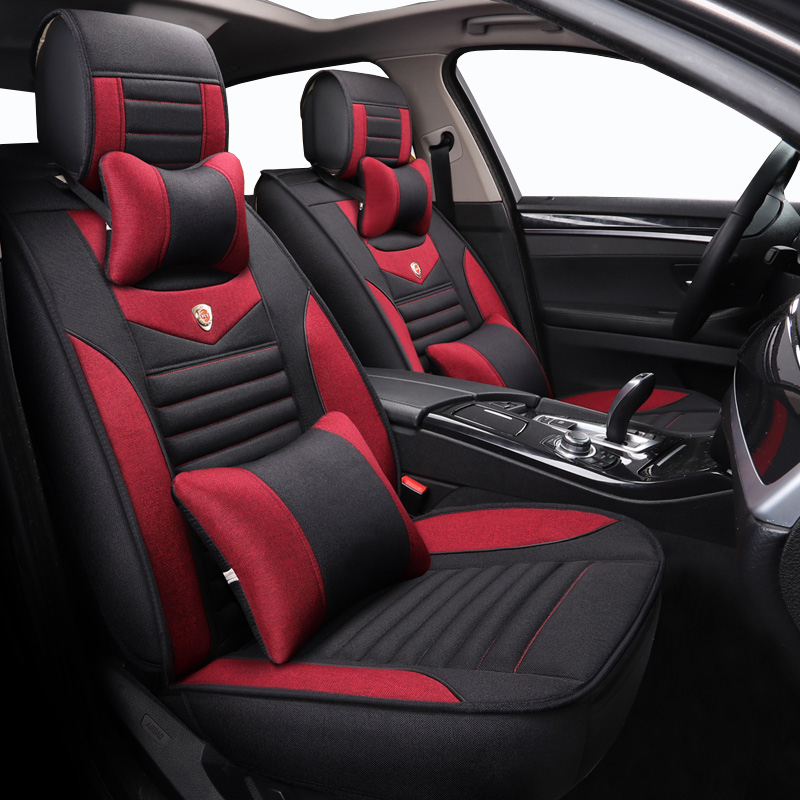High quality line car seat cover For Toyota Corolla Camry Rav4 Auris Prius Yalis Avensis SUV
