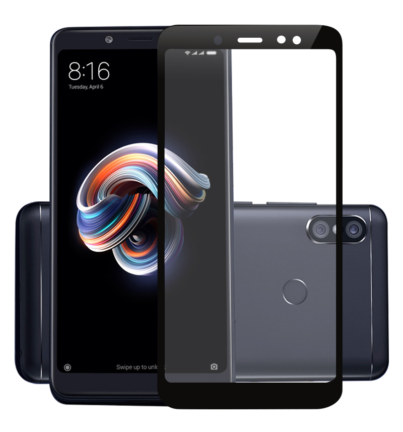 2.5D 9H Premium de Vidro Temperado para Xiaomi Redmi Nota 5 Pro 5.99 ''Completa Cobertura Protetor de Tela Película Protetora