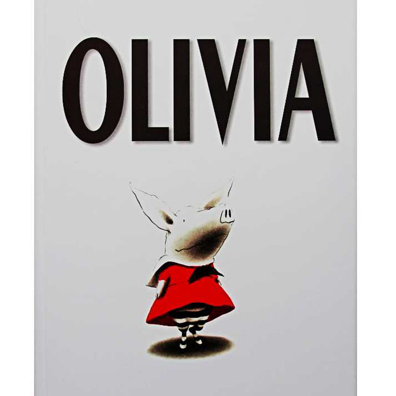 Olivia By Ian Falconer Educational English Picture Book Learning Card Story Book For Baby Kids Children Gifts