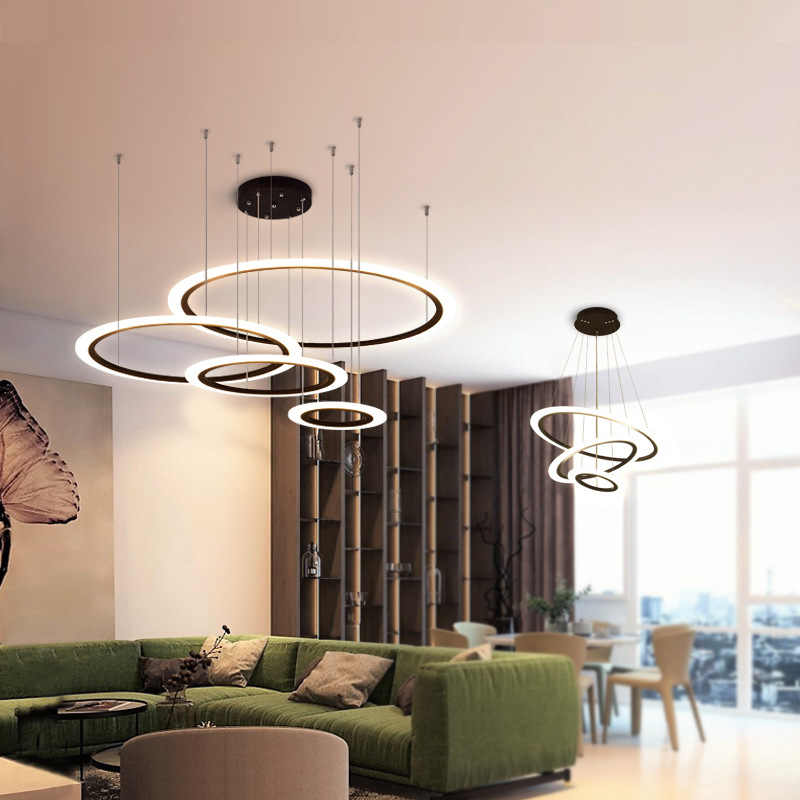 dining Modern Chandeliers For Living Room Lustre restaurant hotel dining room Chandelier lighting lights