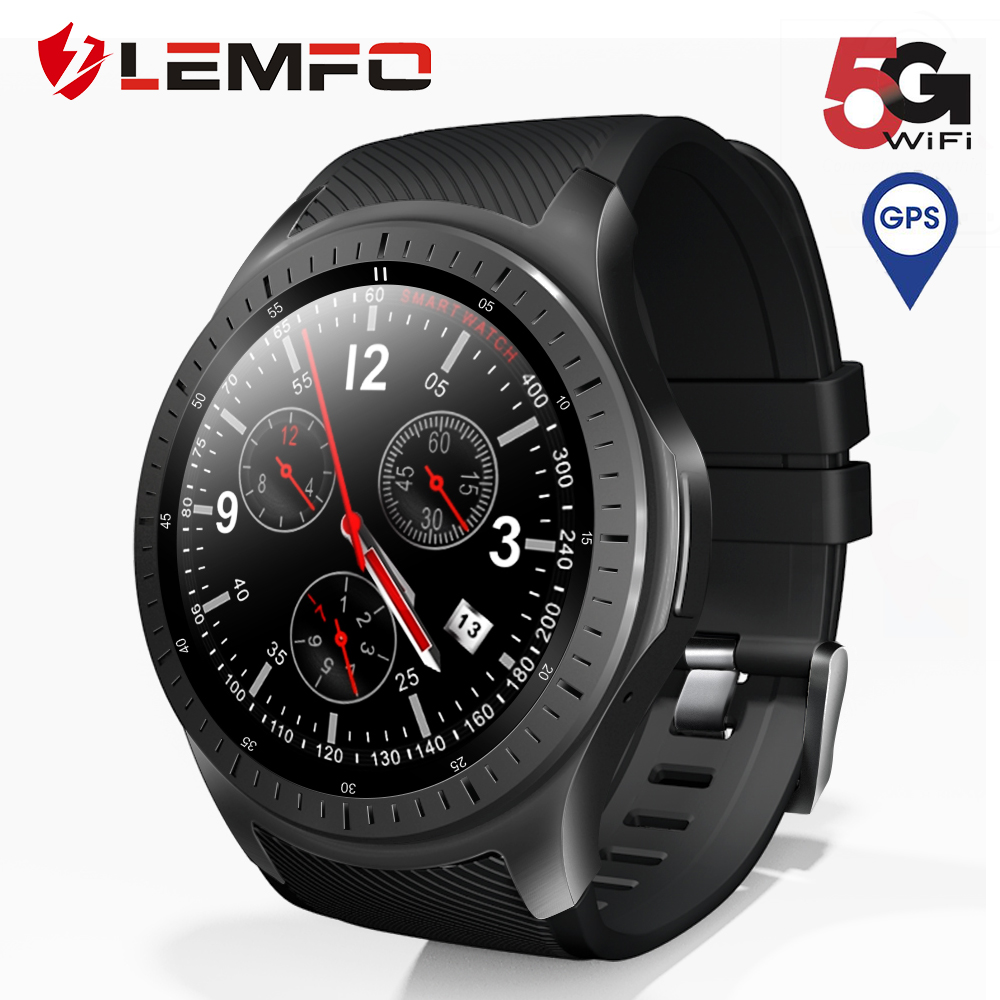 LEMFO LF25 Smart Watch Android 7.1.1 LTE 4G Sim WIFI 1.3 Inch 320*320 Tough Screen GPS Heart Rate Steps Smartwatch For Men Women