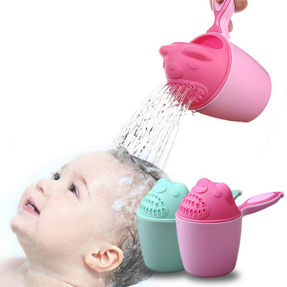 Plastic Thickening Baby Head Washing Cup Infant Shower Water Scoop Childrens Products Bath Scoop Bath Scoop