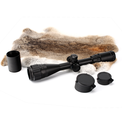 caca 3 9x40 ao riflescope tatico mira optica