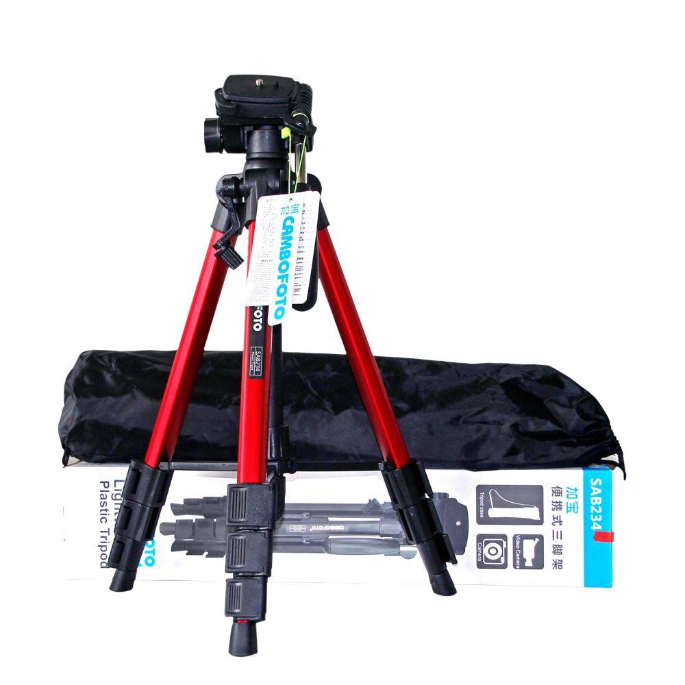 Aluminum Alloy Camera Tabletop Tripod Kit with Ball Head and carrying bag for travellers for Canon Nikon Sony SLR Camera original weifeng wf 6662a ball head camera tripod with carrying bag for canon nikon dslr slr