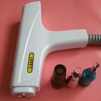 Tattoo Removal Machine Accessories Professional Nd Yag Laser Handle for Tattoo Eyebrow Removal Machine Gun with 3 heads