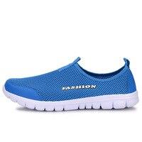 2017 Men Shoes Summer Shoes Light Comfortable Men Casual Shoes zapatos hombre Mesh Breathable Loafers Footwear Plus Size 38-46 1
