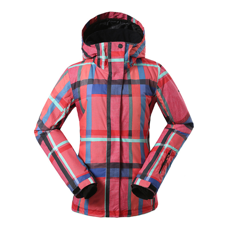 Women Ski Jacket 4 Colors Size S -3XL Waterproof Ski Snow Jacket Women Winter Outdoor Sports warm hiking snow jacket Coat #J3158
