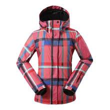 Women Ski Jacket 4 Colors Size S -3XL Waterproof Ski Snow Jacket Women Winter Outdoor Sports Coat #J3158