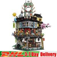2018 DHL строительство модель творческий City 4932 шт. модульные блоки игрушки Кирпичи совместимы Legoinglys 70620 как подарок