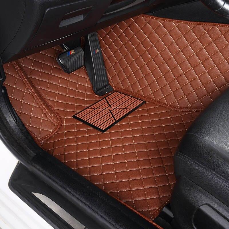 Tapis de sol de voiture sur mesure pour Jeep Grand Cherokee Wrangler Patriot Cherokee boussole commander accessoires de voiture style de voiture - 6