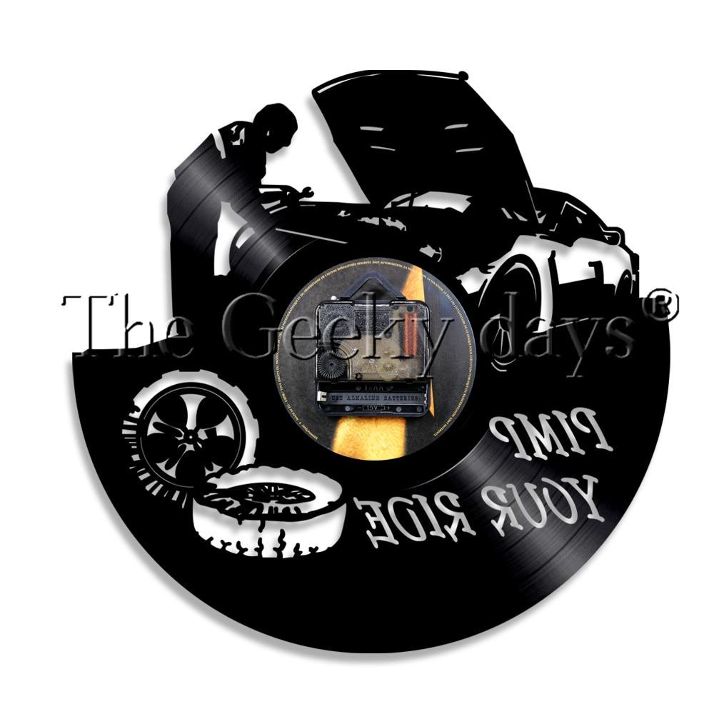 1piece pimp your ride repair car auto service vinyl record wall
