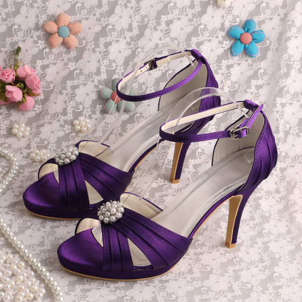 Popular Purple Prom Shoes-Buy Cheap Purple Prom Shoes lots from