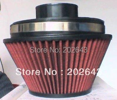 268802 червен въздушен филтър и стек на скоростта 3 '' / 3,5 '' / 4''152 мм ширина перформаден универсален за автомобилна всмукателна тръба силиконов маркуч паркинг