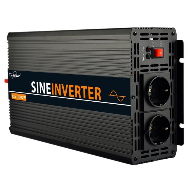 Пик 2500 Вт Чистая синусоида инвертор 12v 220v 1000W 1200W с аппликацией «сердце» самого лучшего качества