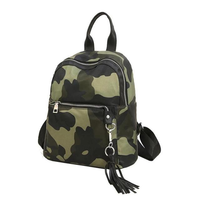 b6b3b1efcb7f Xiniu stylish backpack for women Girls Preppy Tassel Camouflage Bookbags  backpacks for teenage girls school bag Travel bag