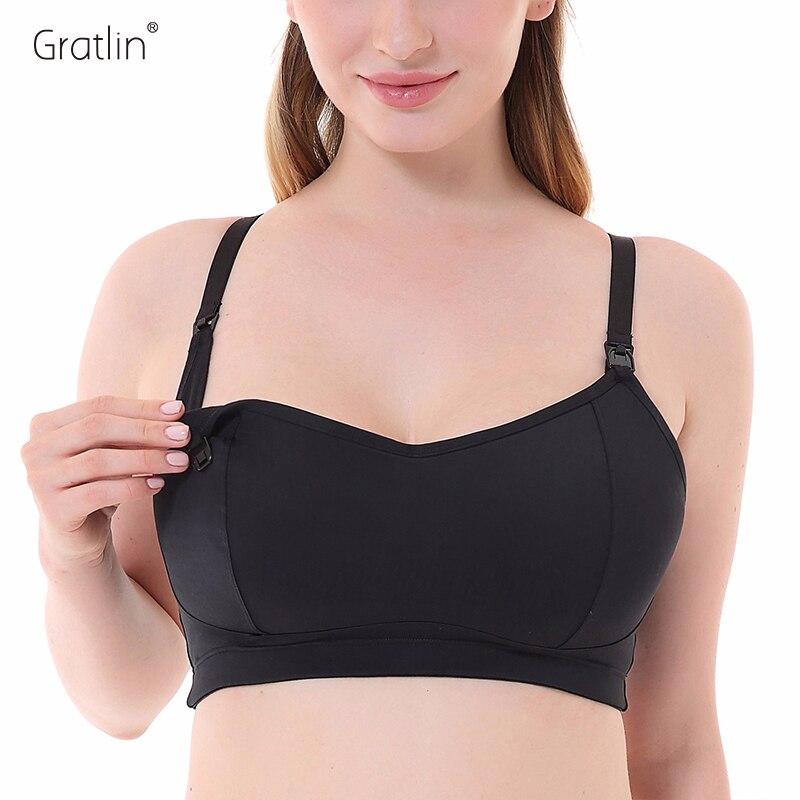 Women's Lightly Padded Wireless Racerback Support Maternity Nursing bra недорго, оригинальная цена