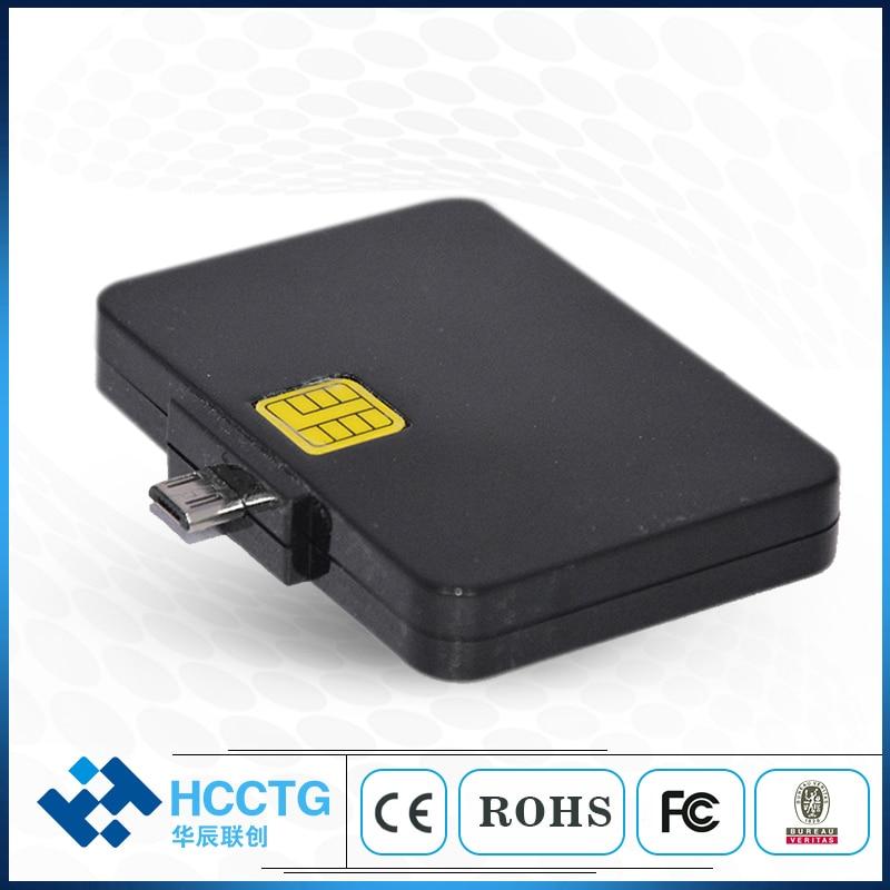 Paypal Mobile Micro Usb Portable Smart Card Reader DCR32